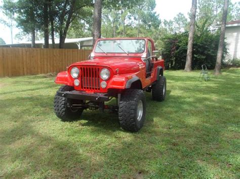 jeep scrambler for sale on craigslist 1981 jeep scrambler cj8 v6 manual for sale ta fl