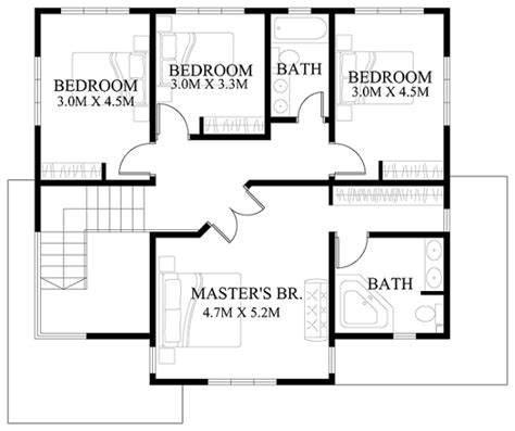 house floor plan design modern house design series mhd 2012006 eplans