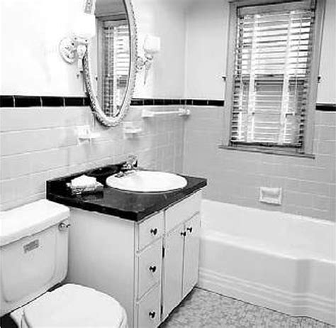 Black White Bathroom Archives Tjihome Small Black And White Bathrooms Ideas