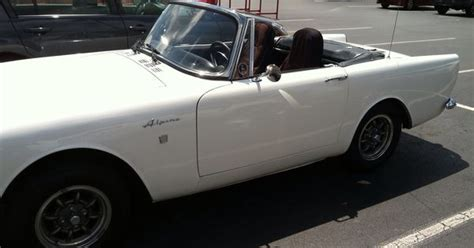 1965 sunbeam alpine spotted at a lowe s in kennesaw ga