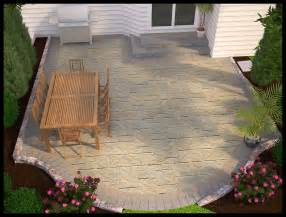design simple patio
