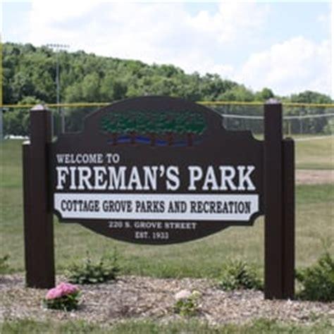 Park Cottage Grove by Fireman S Park Parks 4116 Vilas Rd Cottage Grove Wi