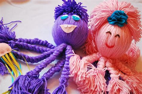 baby projects yarn octopus