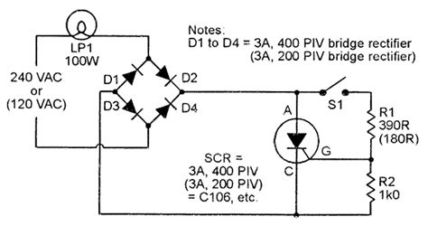 scr firing circuit diagram scr principles and circuits nuts volts magazine