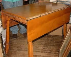 Maple Kitchen Tables Vintage 1950s Solid Rock Maple Drop Leaf Kitchen Table Apartment Size L K Ebay