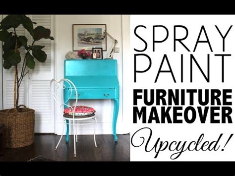 diy spray paint furniture makeover home decor youtube