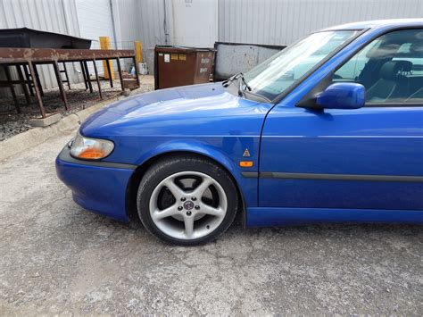 tom motors tom donney motors 1999 saab viggen lightning blue 3 door
