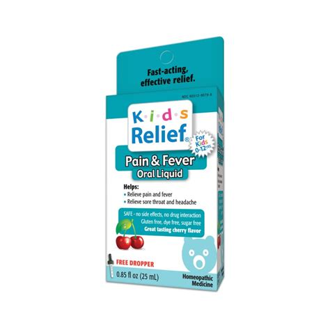 Peek Me And Joint Relief 25ml relief fever cherry 0 85 fl oz 25 ml liquid
