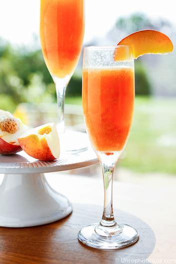 brio peach bellini recipe bellini recipes