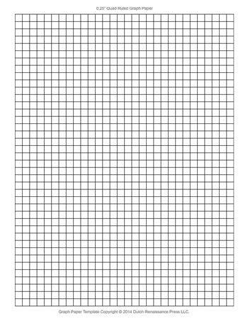 printable quad paper printable graph paper 0 25 inch tim s printables