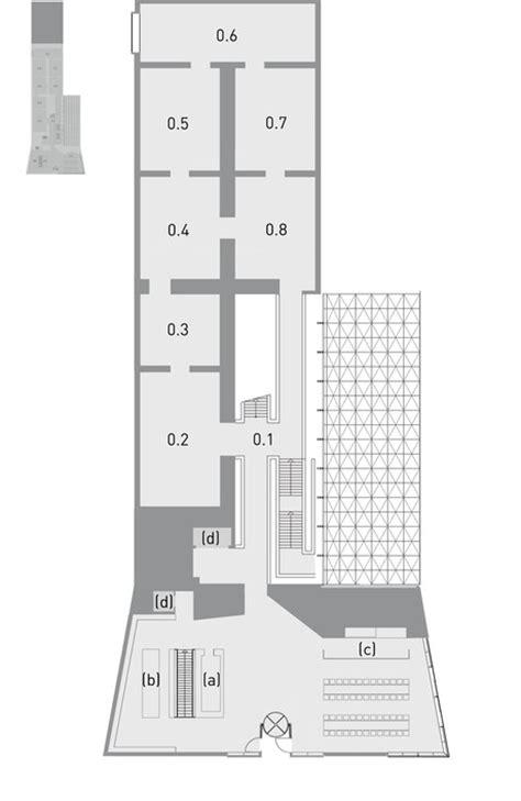 museum foyer grundriss museum brandhorst m 252 nchen grundrisse