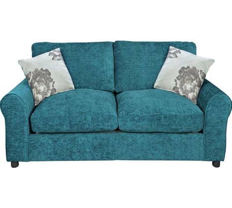 teal sofa bed buy home tessa 2 seater fabric sofa bed teal at argos co