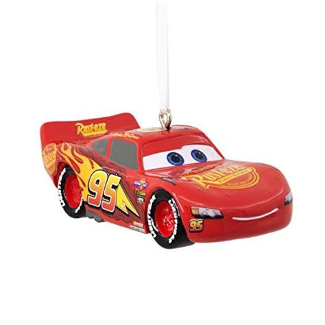 hallmark disney pixar cars lightning mcqueen christmas
