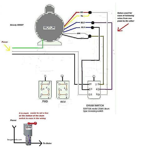 reversing electric motor wiring wiring diagram with