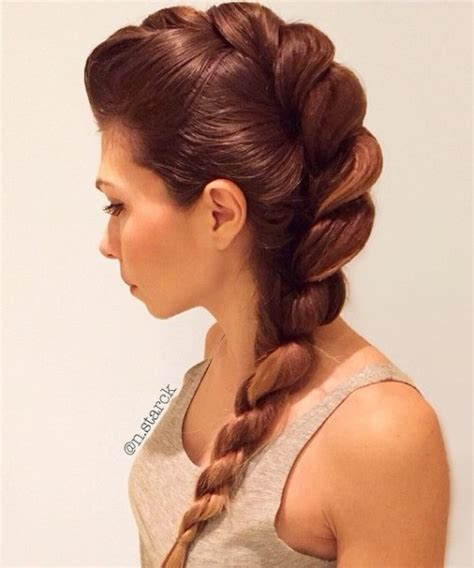 braids with bolding center rope braid hairstyles 20 cute ideas for 2018