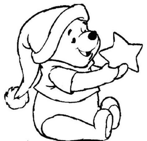imagenes de navidad bonitas para colorear imagen de winnie pooh de navidad para colorear imagenes