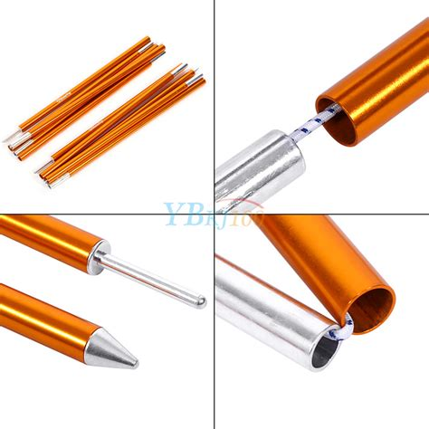 awning support aluminum alloy awning support rod cing canopy tent pole 5 sections φ16mm dh ebay