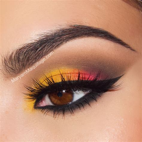 Eyeshadow For maryam maquillage fashion sunset style