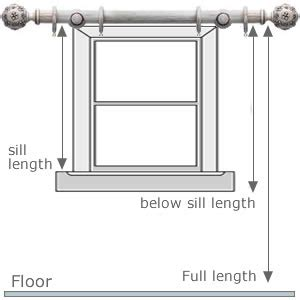 how to calculate curtain measurements how to measure for your window blinds and curtains