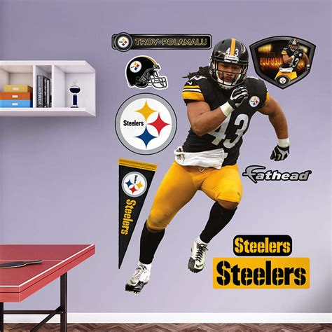 Steelers Decor by Troy Polamalu
