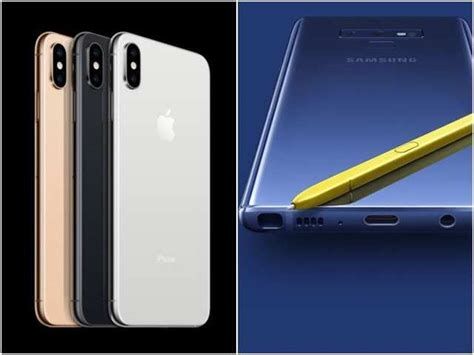 iphone xs max vs galaxy note 9 how apple s phone compares to samsung s mobiles news