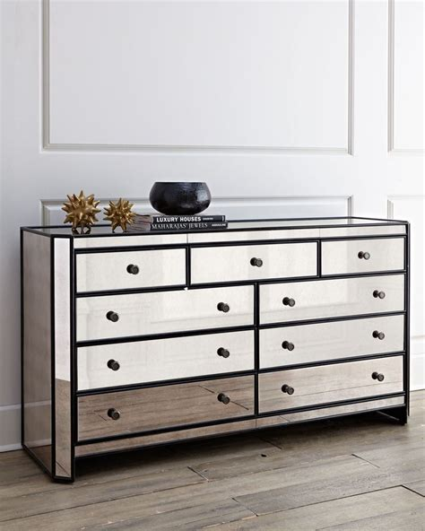 mirrored bedroom dresser how trendy and fashionable mirror dresser designs