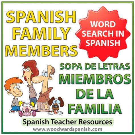 Search Family Members Family Members Word Search