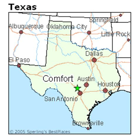 comfort texas map best places to live in comfort texas