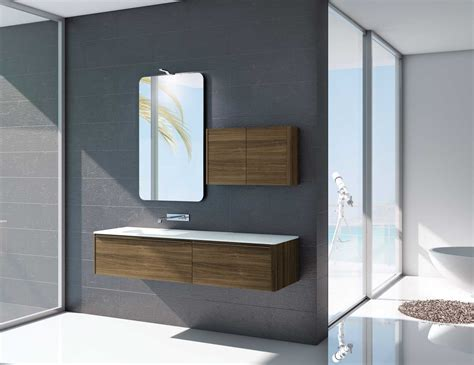 designer vanities for bathrooms mastella dress d 14 modular designer bathroom vanity in walnut wood