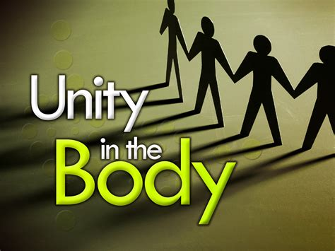 unity in the church body
