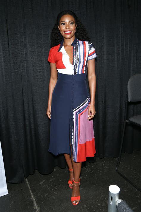 Style Gabrielle Union Fabsugar Want Need by Gabrielle Union In The Prabal Gurung Dress
