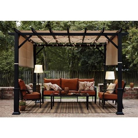 garden treasures pergola outdoor goods
