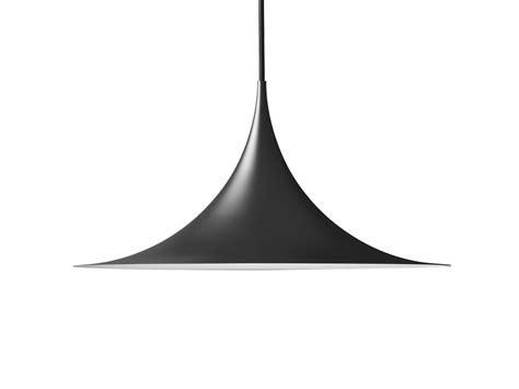 Buy the Gubi Semi Pendant Light Black at Nest.co.uk