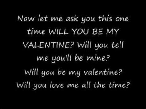 my valentines lyrics will you be my alexandher lyrics