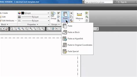 copy layout autocad another file autocad copy paste a border in a layout tab 31 youtube