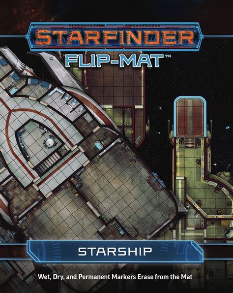 paizo starfinder flip mat starship