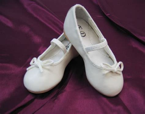 ivory ballet slippers for toddlers tip top ivory ballet slipper flower shoes infant
