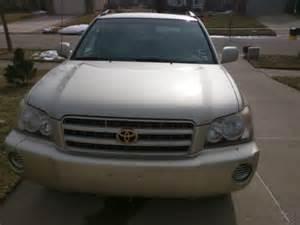 Toyota Highlander Craigslist 2002 Toyota Highlander V6 For Sale Craigslist Used Cars