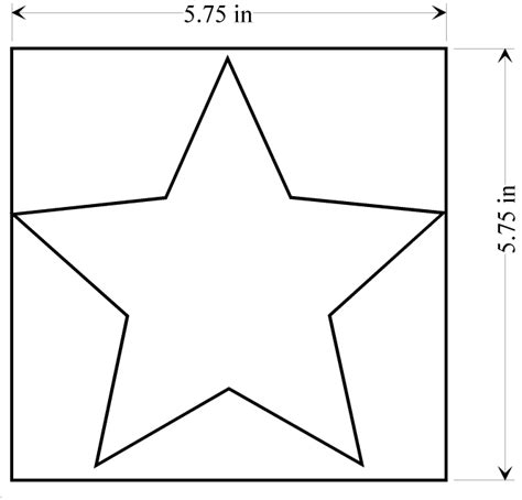 star pattern to cut out search results calendar 2015