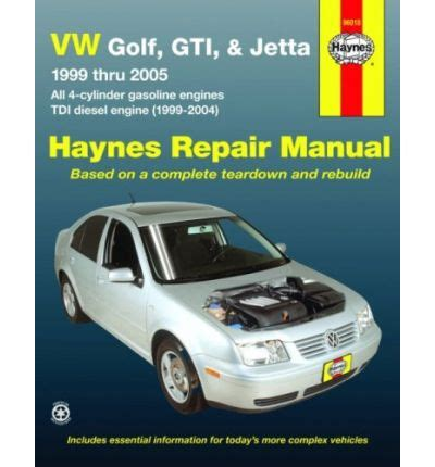 vw golf gti jetta 1999 thru 2005 sagin workshop car manuals repair books information