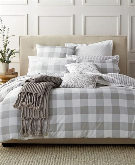 gray plaid comforter 25 best ideas about plaid bedding on pinterest winter
