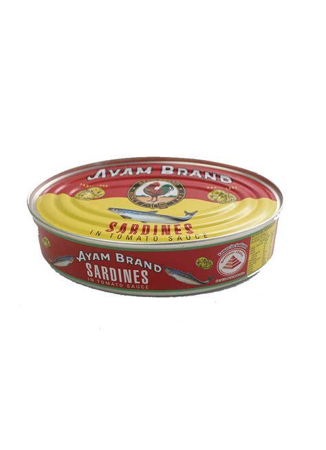 ayam brand sardine  oval  suzy ameer