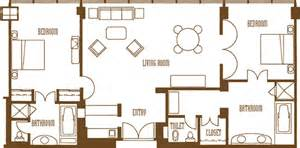 superior Mirage Two Bedroom Tower Suite #3: miragelasvegas2bedroompenthousefloorplan_540.gif