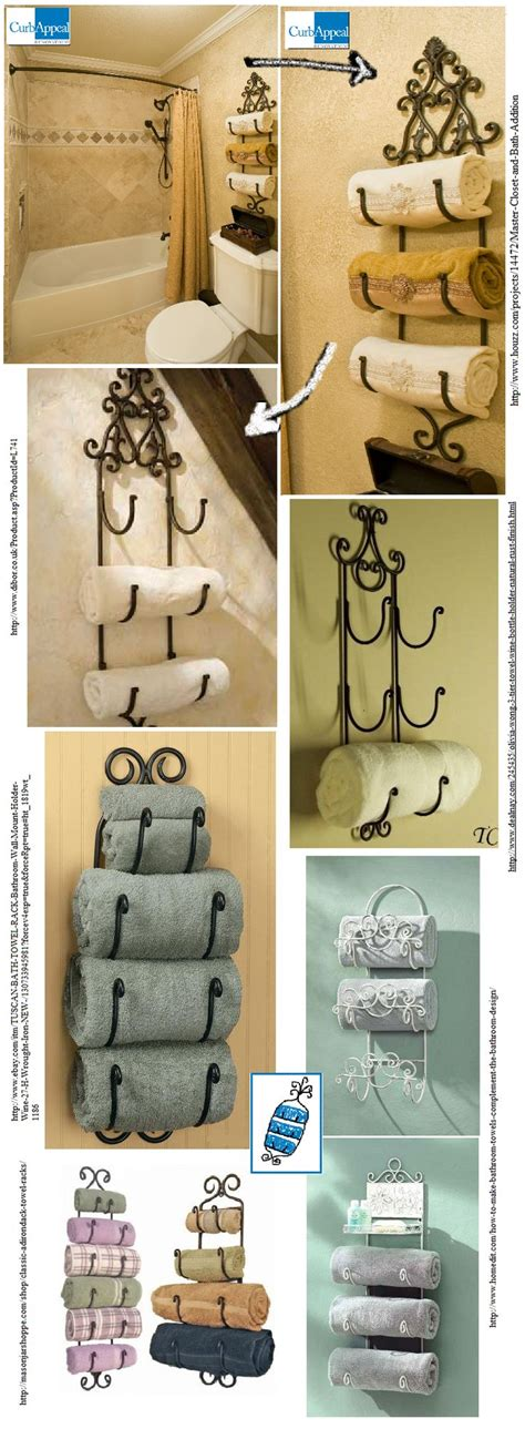 decorative towel racks for bathrooms best 25 tuscan bathroom ideas only on pinterest tuscan