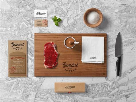 mockup design inspiration restaurant food branding mock up restaurant food