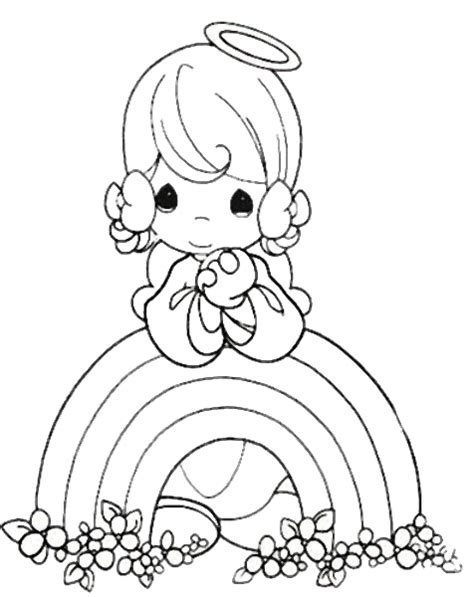 Precious Moments Coloring Pages lyontarotden precious moments for coloring pages