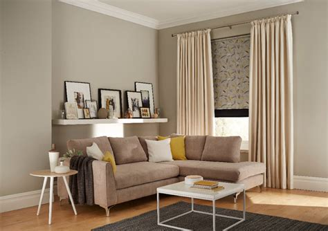 Contemporary Living Room Blinds Living Room Blinds And Interiors Contemporary Living