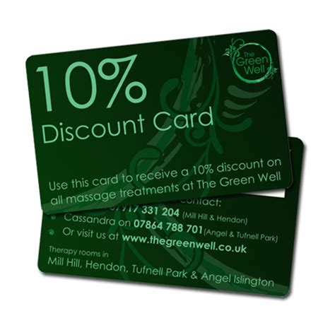 Gift Card Coupon - plastic discount cards 4g trial