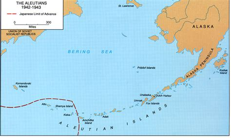 aleutian islands map aleutian islands