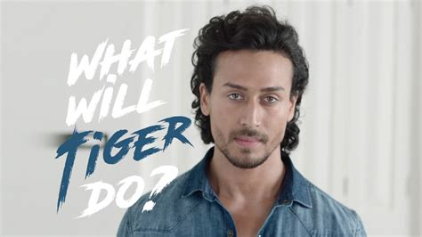 tiger shroff hair style tiger shroff tests forca s flex denims youtube